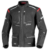 Kurtka motocyklowa BUSE NOVA czarna/czerwona 28