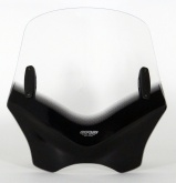 Uniwersalna szyba do motocykli bez owiewek MRA, forma VFSC, czarna