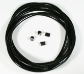 Uszczelka szyby MRA czarna, długość 2m, 6 tulej