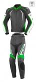 Kombinezon motocyklowy BUSE Silverstone Pro czarno-zielony