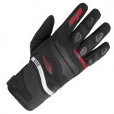 Rękawice motocyklowe BUSE Fresh czarno-czerwone