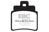 Klocki hamulcowe EBC SFA355/4HH skuterowe (kpl. na 1 tarcze)
