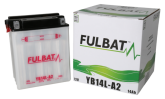 Akumulator FULBAT 12N14-3A (suchy, obsługowy, kwas w zestawie)
