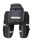 Sakwa na bagażnik Sport Arsenal ART. 550 rozkładana 25L