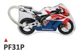 PRINT Dwustronny wypukły brelok na klucze Honda CBR 1000 2004