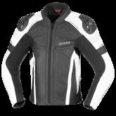 Kurtka motocyklowa skórzana BUSE Monza czarno-biały 48