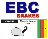 Klocki rowerowe EBC (spiekane) Magura Louise 2008 CFA449HH