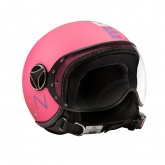Kask Motocyklowy MOMO FGTR BABY (Pink Matt / Multicolor) rozm. XS