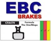 Klocki rowerowe EBC (spiekane) Formula One & Mega CFA470HH