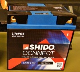 Akumulator SHIDO CONNECT LIX30L-BS Litowo Jonowy 4 Term
