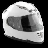 Kask motocyklowy ROCC 480 biały połysk L