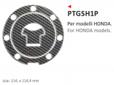 PRINT naklejka na wlew paliwa tappo Honda