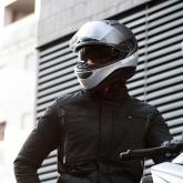 Kask Motocyklowy MOMO HORNET (Titanium Frost / Silver / Black / White) rozm. ML
