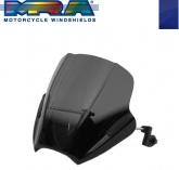 Uniwersalna szyba do motocykli bez owiewek MRA (typ SPS, niebieska)