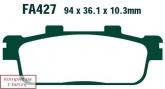 Klocki hamulcowe EBC SFA427HH skuterowe (kpl. na 1 tarcze)