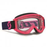 Gogle Scott RecoilXi Pink Clear Lens Works