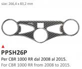 PRINT Naklejka na półkę kierownicy Honda CBR 1000RR 2008/2016