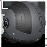 Kask Motocyklowy MOMO AVIO PRO Antracytowy Czarny / Carbon