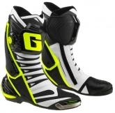 Buty motocyklowe GAERNE GP1 EVO białe czarne żółte rozm. 45