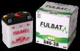 Akumulator FULBAT 6N6-3B (suchy, obsługowy, kwas w zestawie)
