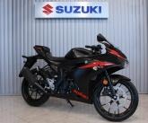 Suzuki GSX-R125 malowanie Black semi-gloss rocznik 2018