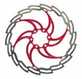Tarcza hamulcowa XLC BR-X02 czerwona 160mm