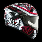 Kask Motocyklowy KYT NF-R ESPARGARO' 2018 FUXIA - M