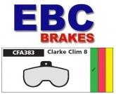 Klocki rowerowe EBC CLARKE CLIM 8 CFA383 (1 kpl.)