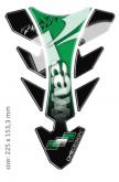 PRINT tankpad future with application tape Kawasaki zielone