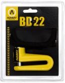 AUVRAY blokada na tarczę BD22 - żółta, średnica bolca 10mm