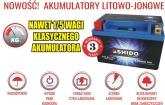 Akumulator SHIDO LT14B-BS Litowo Jonowy