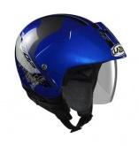 Kask motocyklowy LAZER BE-BOP Talas niebieski
