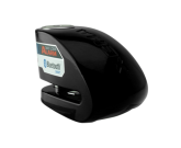 Blokada na tarczę z alarmem i bluetooth XX10 - czarna - bolec 10 mm
