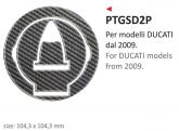 PRINT naklejka na wlew paliwa Ducati from 2009