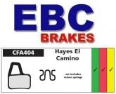 Klocki rowerowe EBC (spiekane) Hayes El Camino Hydraulic CFA404HH