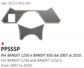 PRINT Naklejka na półkę kierownicy BANDIT 650-1250 2007/2010