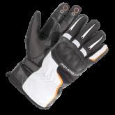 Rękawice motocyklowe BUSE Open Road Touring czarno-białe