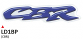 Naklejka 3D PRINT CBR niebieska (2 szt.)