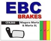 Klocki rowerowe EBC (spiekane) Magura Marta/Marta SL CFA360HH
