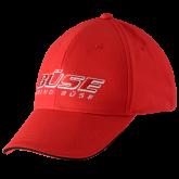 Czapka z daszkiem BuSE czerwona