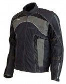 Kurtka motocyklowa LOOKWELL ATLANTIS czarna
