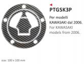 PRINT naklejka na wlew paliwa Kawasaki 2006