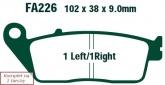 Klocki hamulcowe EBC EPFA226HH Extreme Pro (kpl. na 1 tarcze)
