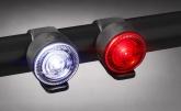 Lampki rowerowe zestaw p+t Just ONE VISION 7.0 SET