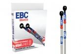 Przewody hamulcowe w stalowym oplocie EBC BLM4005-1F przednia oś KAWASAKI ER-5 A1-A4, C1-C5P [96-07]