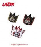 LAZER Peak MX8 Pure Glass GeopopYellow - Black - Red