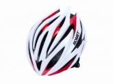 Kask rowerowy Romet model 109 biało-czerwony rozm. S/M