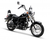 Motocykl Romet R125 Czarny