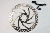 OVERSIZE MTB DISC WITH BRACKET (MANITOU FORKS /160MM TO 181MM)
