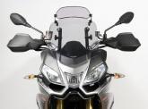 Szyba motocyklowa MRA APRILIA CAPONORD 1200, VK, 2013-, forma XCS, przyciemniana